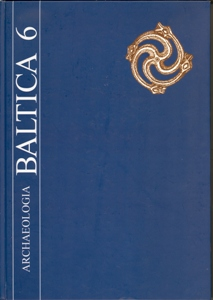 Archaeologia Baltica, Vol. 6