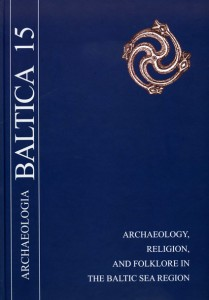 Archaeologia Baltica, Vol. 15