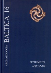 Archaeologia Baltica, Vol. 16