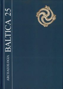 Archaeologia Baltica, vol. 25