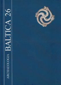Archaeologia Baltica, vol. 26